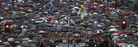 18F Marcha del silencio