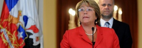 Bachelet Michelle Presidente Chile