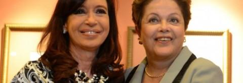Cristina  Fernández - Dilma Rousseff