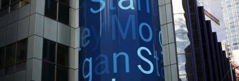 Morgan Stanley en Wall Street